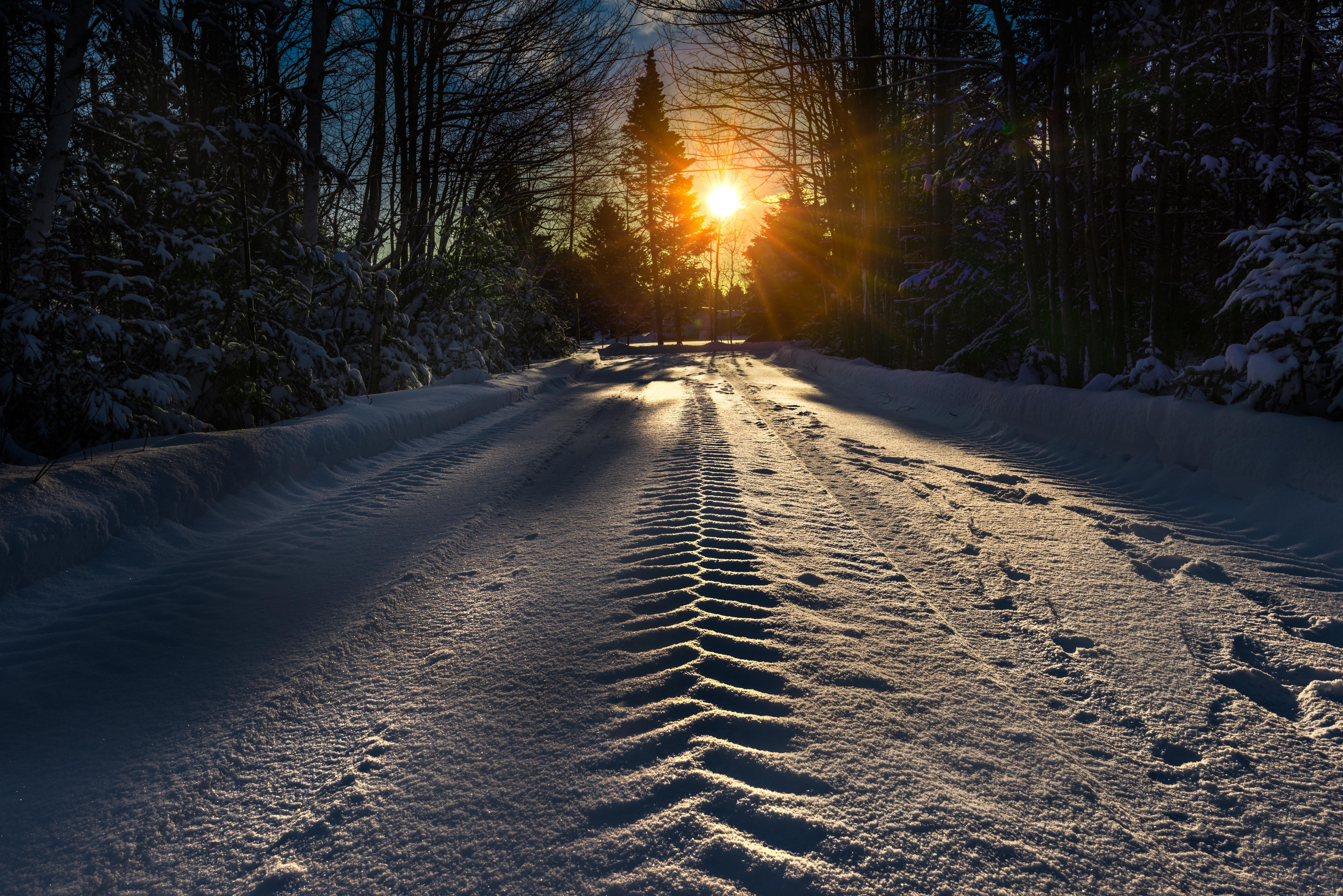заснеженная дорога красивые фото снова камеру проделываете