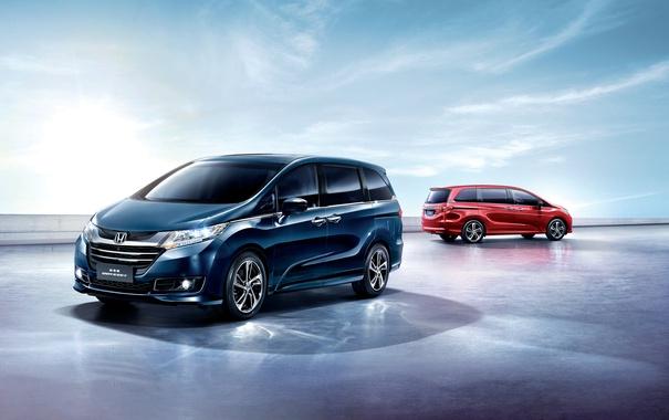 Фото обои Honda, хонда, минивэн, Odyssey, одиссей