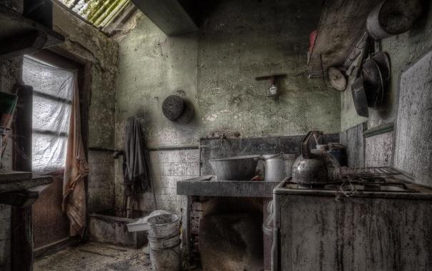 Фото обои комната, окно, кухня