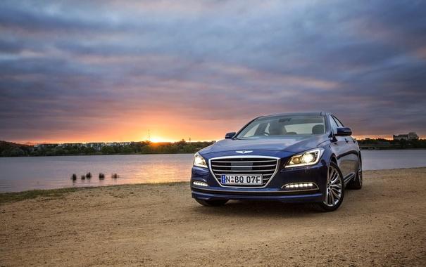 Фото обои Hyundai, Genesis, хендай, дженезис