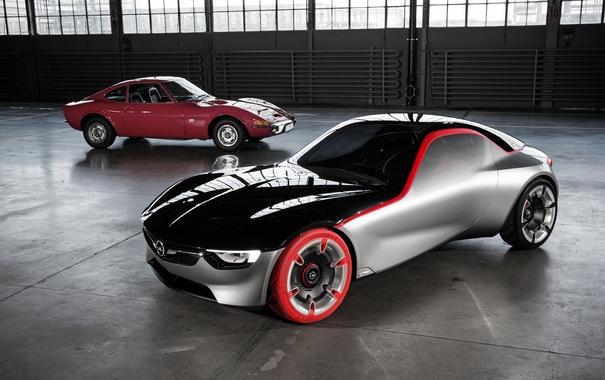 Фото обои Concept, концепт, Opel, опель