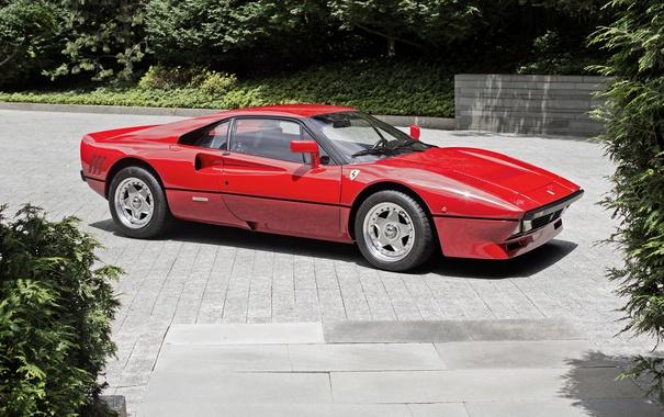 Фото обои Ferrari, феррари, GTO, 1985