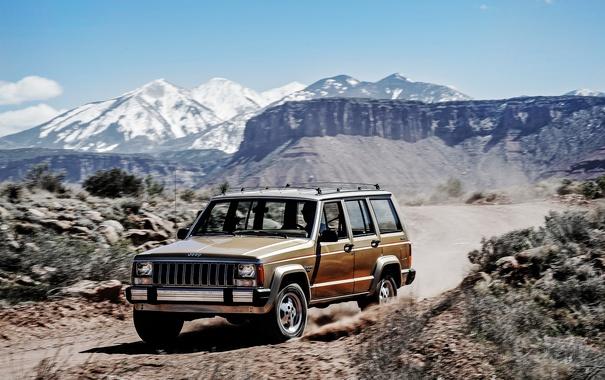 Фото обои джип, 1984, Jeep, Cherokee, чероки