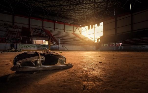 Фото обои спорт, арена, Покинутые места