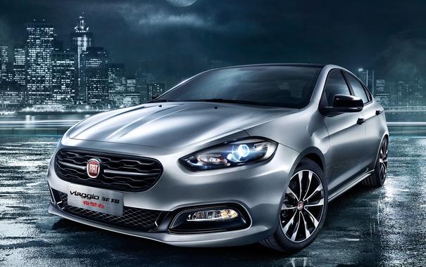 Фото обои Fiat, фиат, Viaggio, виаджио