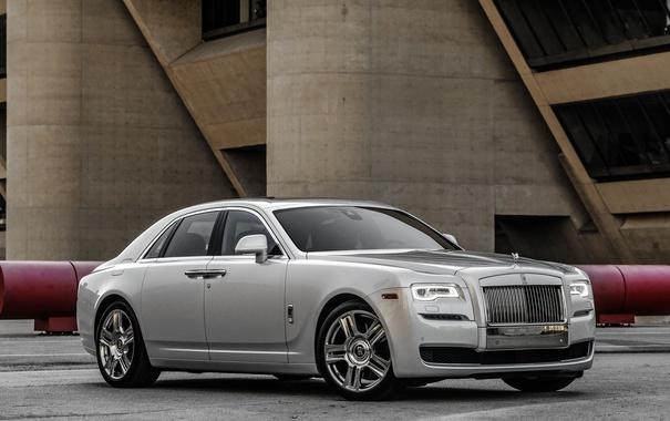 Фото обои Rolls-Royce, Ghost, гост, роллс-ройс