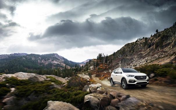 Фото обои Hyundai, Santa Fe, хундай, санта фе