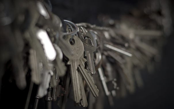 Фото обои фон, ключи, много