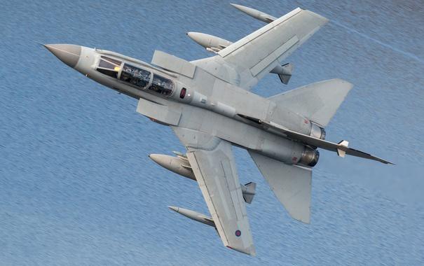 Фото обои истребитель, полёт, бомбардировщик, Tornado