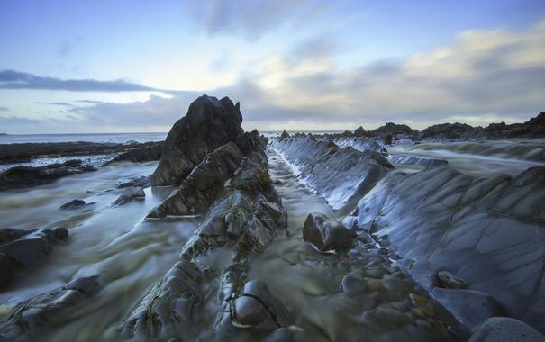 Фото обои море, природа, берег