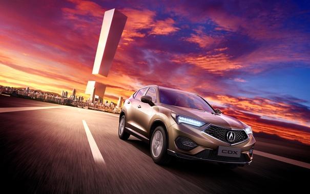 Фото обои Honda, хонда, кроссовер, акура, Acura, CDX
