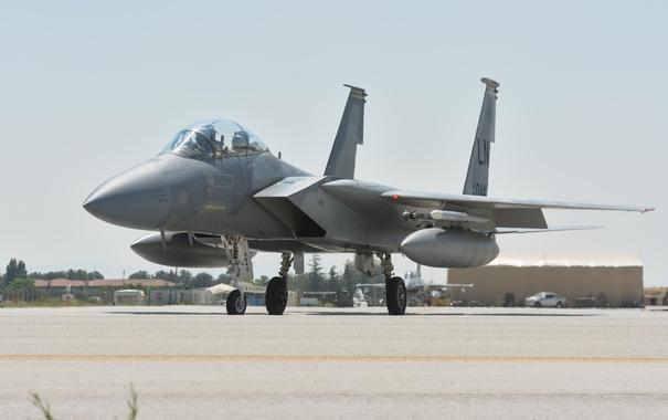 Фото обои истребитель, Eagle, McDonnell Douglas, F-15C