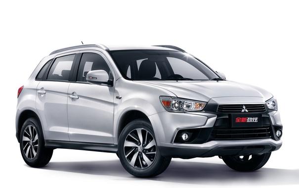 Фото обои фон, Mitsubishi, мицубиси, кроссовер, ASX