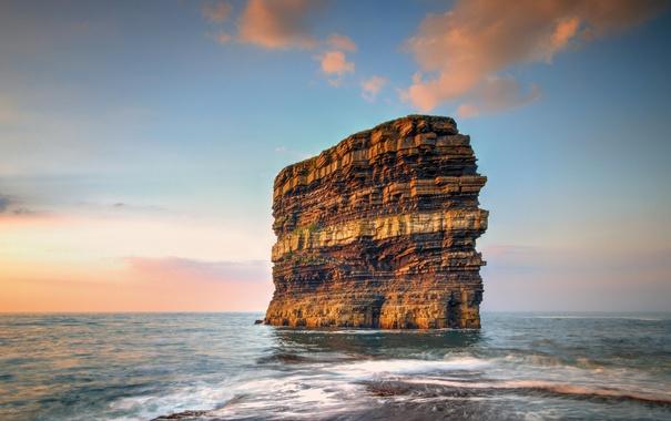 Фото обои море, скала, Ирландия, графство Мейо