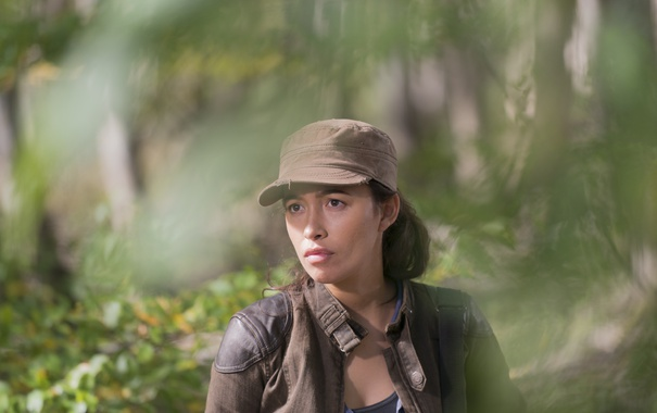 Фото обои The Walking Dead, Ходячие мертвецы, Christian Serratos, Rosita