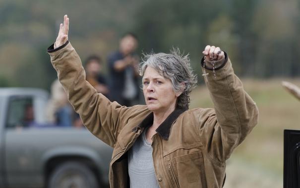 Фото обои The Walking Dead, Ходячие мертвецы, Carol, Melissa McBride