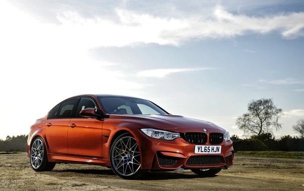 Фото обои Sedan, F80, BMW, бмв