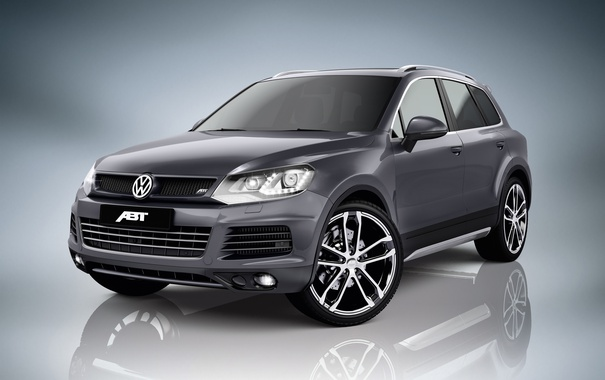 Фото обои Volkswagen, Touareg, фольксваген, ABT, таурег
