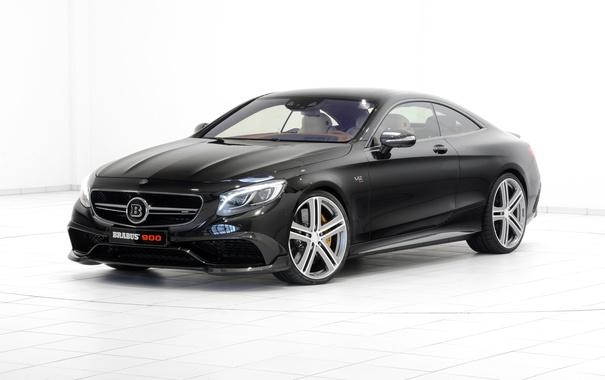 Фото обои купе, Mercedes-Benz, Brabus, мерседес, Coupe, S-Class, C217