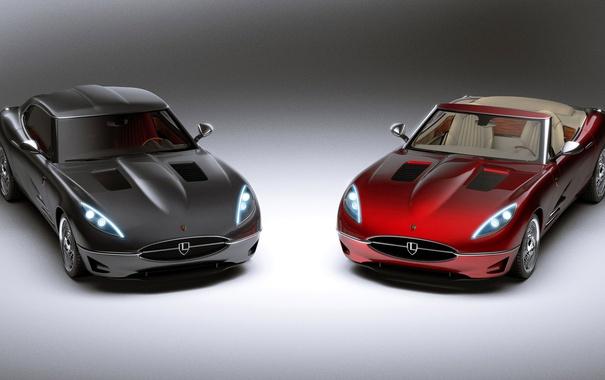 Фото обои купе, эмблема, кабриолет, автомобиль