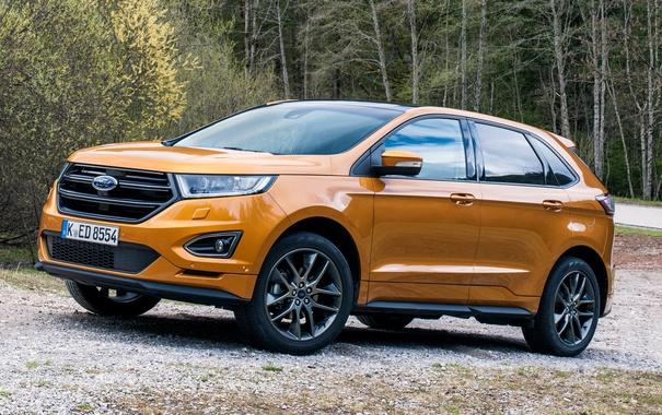 Фото обои Ford, форд, Edge, кроссовер, эдж