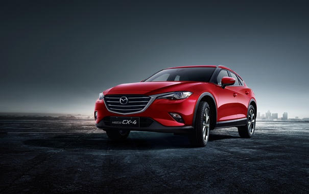 Фото обои Mazda, мазда, кроссовер, CX-4