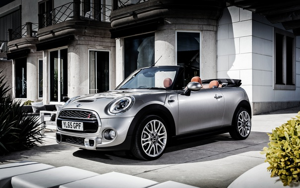 Фото обои Mini, Cooper, мини, кабриолет, купер, Cabrio, F57