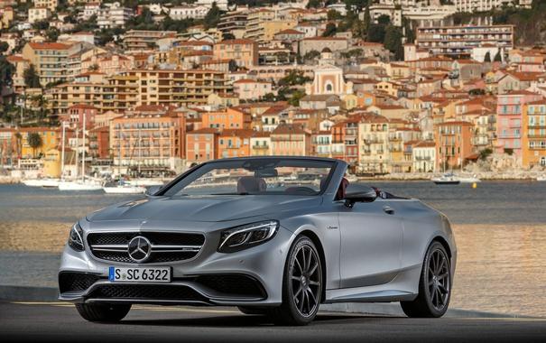 Фото обои Mercedes-Benz, кабриолет, мерседес, AMG, Cabriolet, S-Class, A217