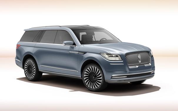 Фото обои Lincoln, Concept, фон, концепт, линкольн, навигатор, Navigator