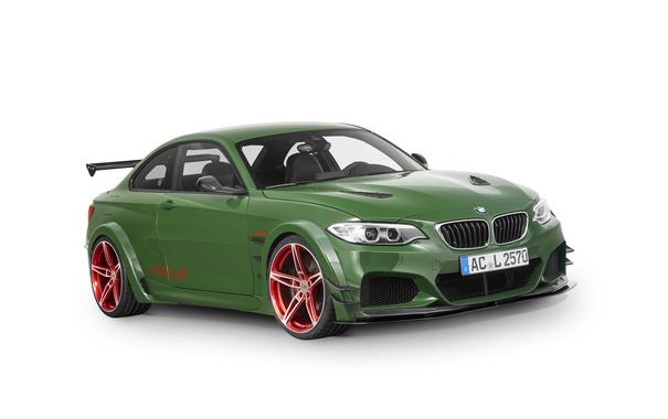 Фото обои бмв, купе, BMW, белый фон, F22, Coupe, AC Schnitzer