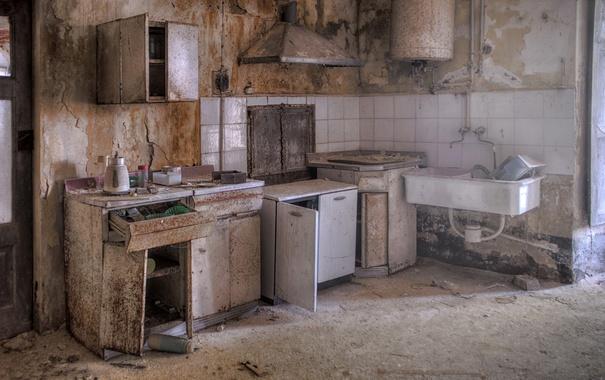 Фото обои фон, комната, кухня