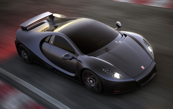 Фото обои скорость, supercar, carbon, Spania, GTA Spano