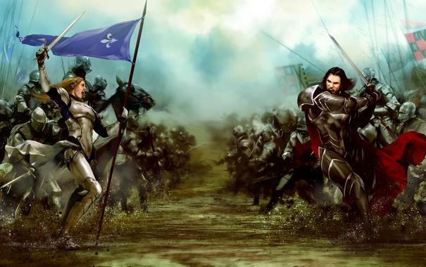 Фото обои battlefield, battle, medieval, Bladestorm