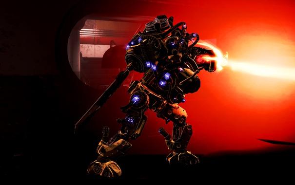 Фото обои фон, игра, броня, Экипировка, Fallout 4