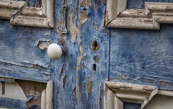 Фото обои фон, замок, дверь