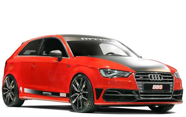 Фото обои Audi, ауди, белый фон, MTM