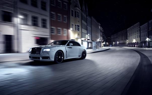 Фото обои Rolls-Royce, роллс-ройс, Wraith, врайт, Spofec