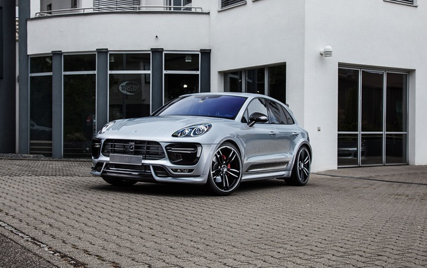 Фото обои Porsche, порше, TechArt, Macan, макан