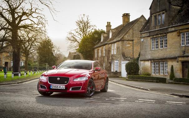 Фото обои Jaguar, ягуар, XJR