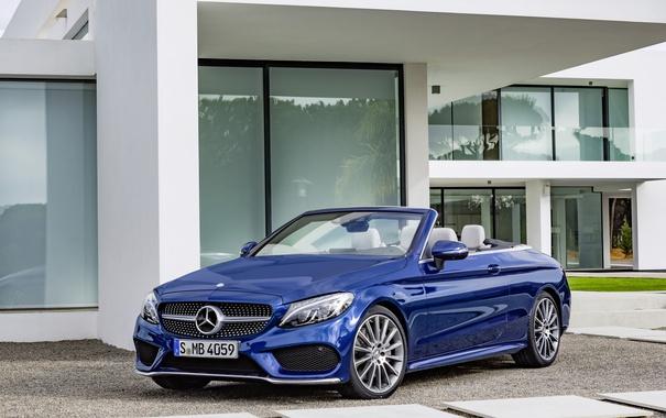 Фото обои Mercedes-Benz, A205, AMG, Cabriolet, кабриолет, C-Class, мерседес