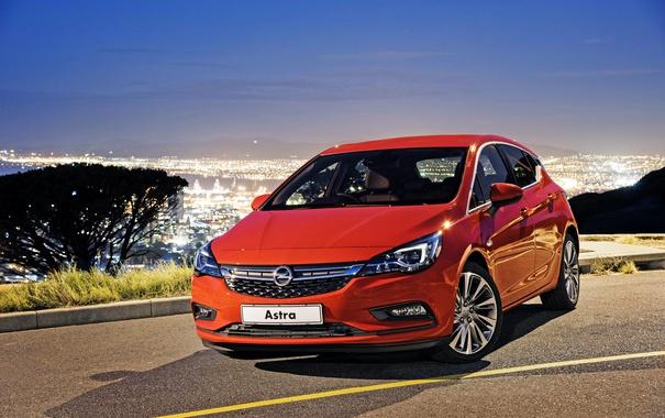 Фото обои Opel, астра, опель, Astra