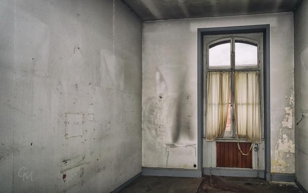 Фото обои фон, комната, окно