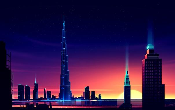 Фото обои дубай, dubai, UAE