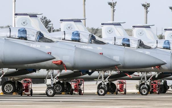 Фото обои истребители, Eagle, McDonnell Douglas, F-15C