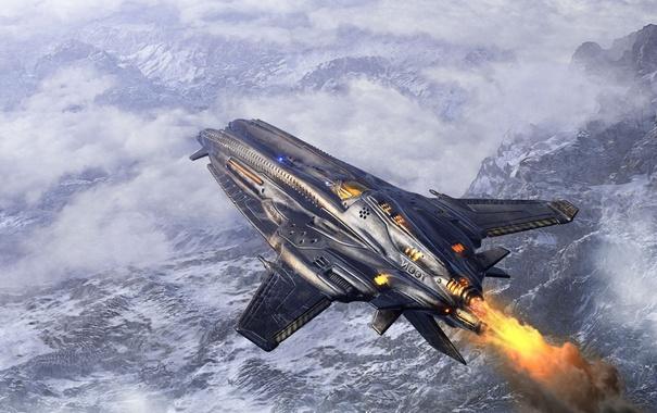 Фото обои avion, Sci fi, strange invention