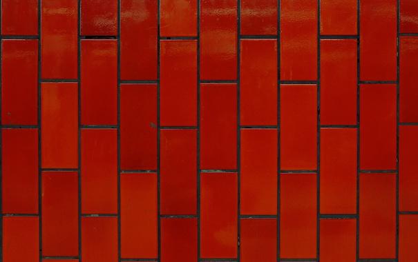 Фото обои стена, текстура, красная