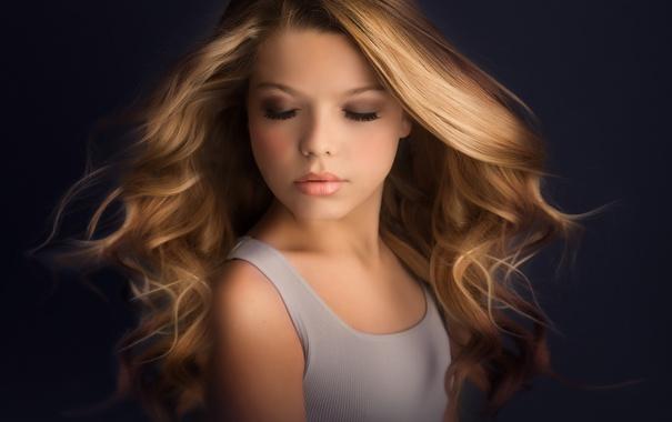 Фото обои волосы, девочка, Meg Bitton