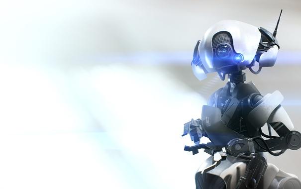Фото обои Робот, Electronic Arts, DICE, Mirrors Edge, EA DICE, Catalyst, Mirrors Edge: Catalyst