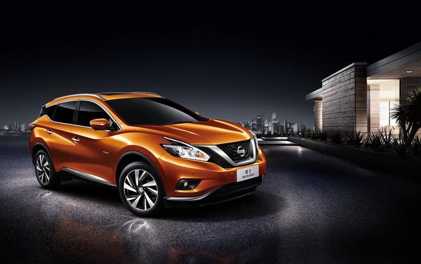 Фото обои Nissan, ниссан, Murano, мурано
