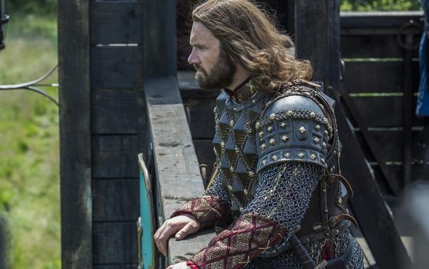Фото обои взгляд, Vikings, Викинги, Clive Standen, Rollo